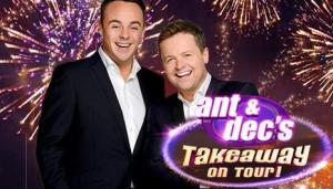 Ant & Decs Takeaway on tour