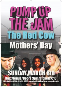 Red Cow Mother s Day 2016 Pump Up the Jam A3 poster Final-page-001